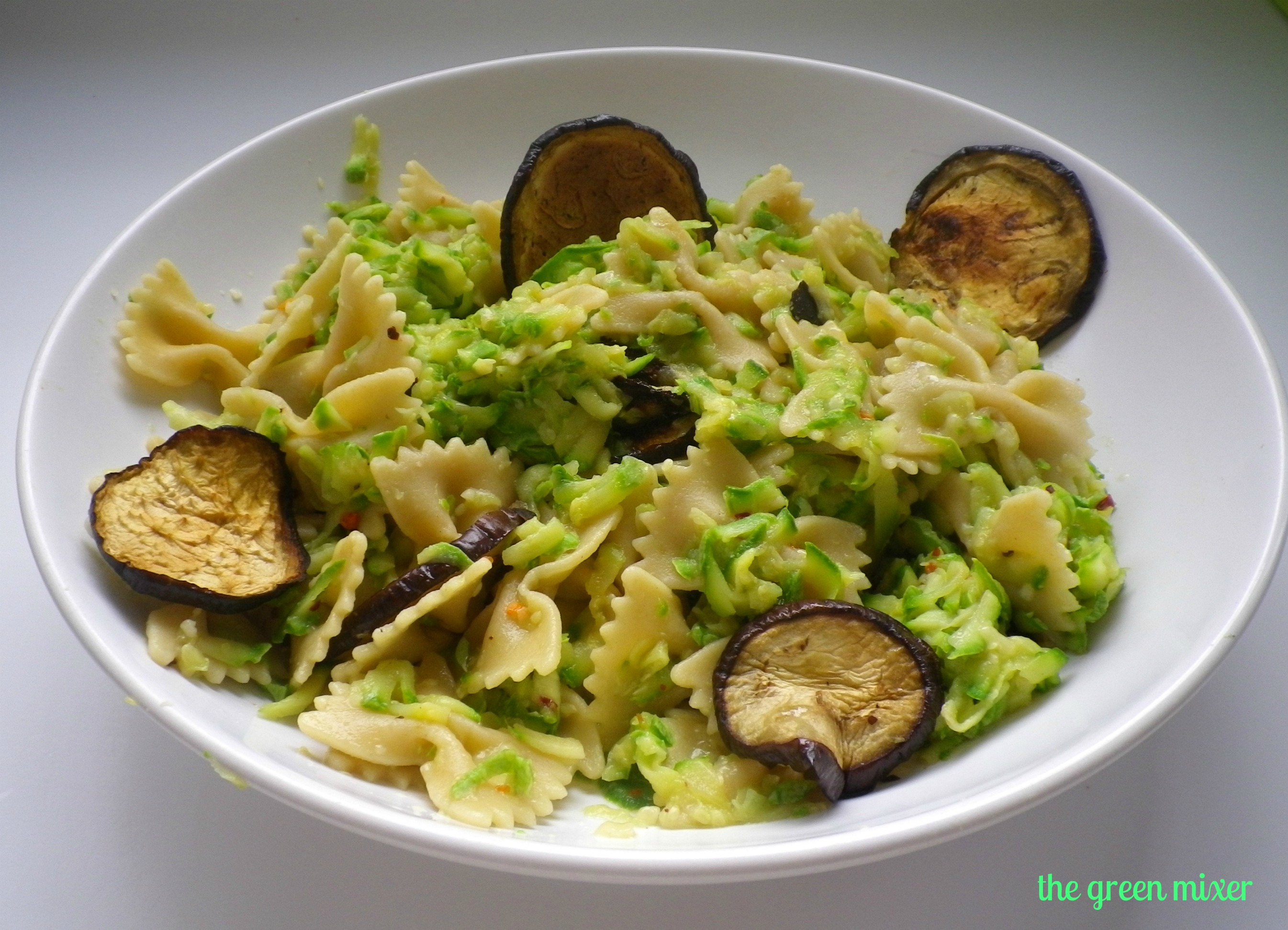 farfalle with zucchini and farfalle with zucchini and farfalle with