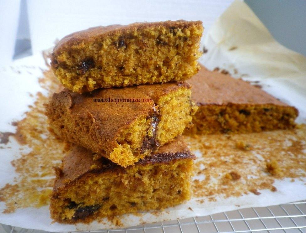 Pumpkin Chocolate Chip Squares – Στον πυρετό της ...