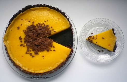 Lemon Tart with Chocolate Almond Crust 2
