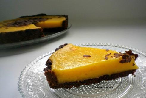 Lemon Tart with Chocolate Almond Crust 3