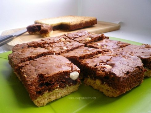 merenda shortbread brownie 2