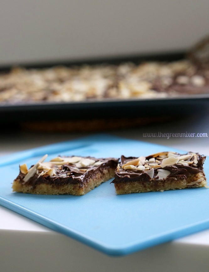 Cleta Bailey's Toffee Squares Recipe — Dishmaps
