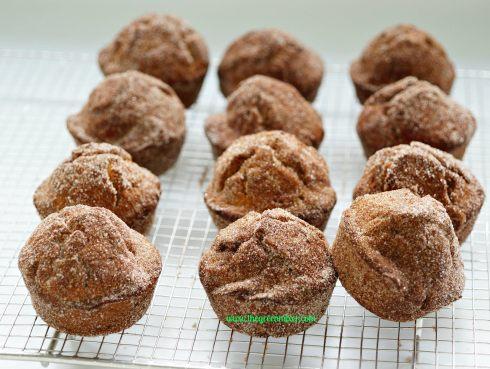 pumpkin doughnut muffins9_mini