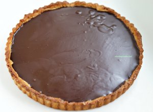chocolate caramel & speculoos tart_mini