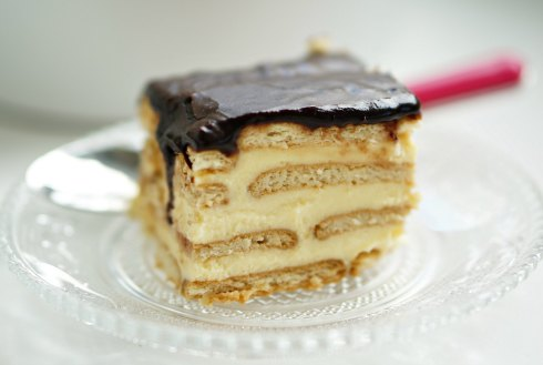 boston cream pie strata 3