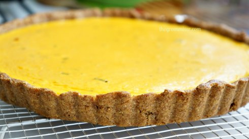 pumpkin quiche with goat cheese3