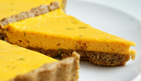 pumpkin quiche with goat cheese 5