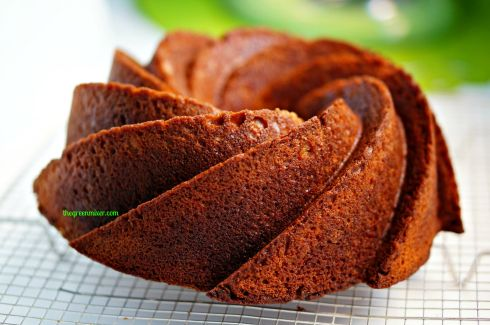 κεικ μανταρινι - tangerine bundt cake