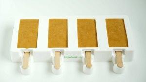 Παγωτινια καραμελα γαλακτος - butterscotch popsicles